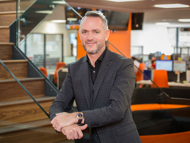 Andy Alderson - ceo of Vanarama which entered Sunday Times Top 100