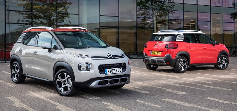 Citroen C3 Aircross in 83 colours
