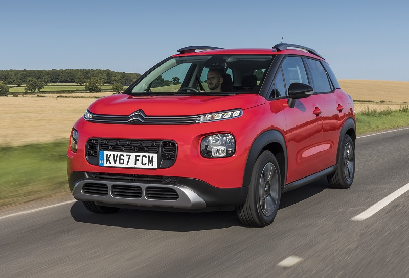 Citroen C3 Aircross dynamic red