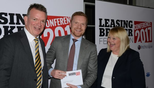 Martin Brown and Fleet Alliance - Leasing Broker of the Year