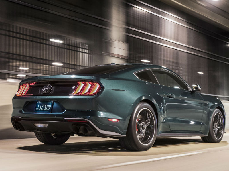 Ford Mustang Bullitt launched at Detroit Show 2018