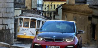 BMW i3s traction spray