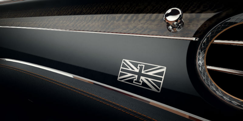 Bentley Continental GT First Edition Fascia