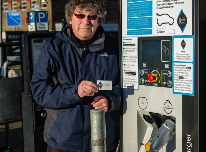 Chargepoint installs public rapid charger for Farnborough