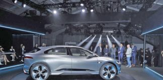Jaguar I PACE reveal 800