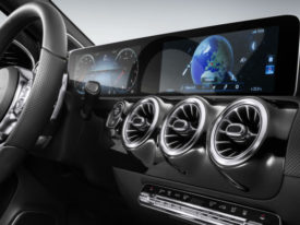 MBUX dashboard on new A class