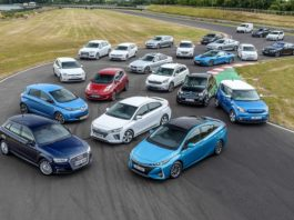 Pure electric and plug in hybrid cars Picture Go Ultra Low