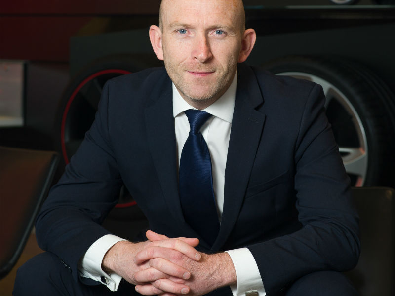 Tom Brennan head of Audi fleet