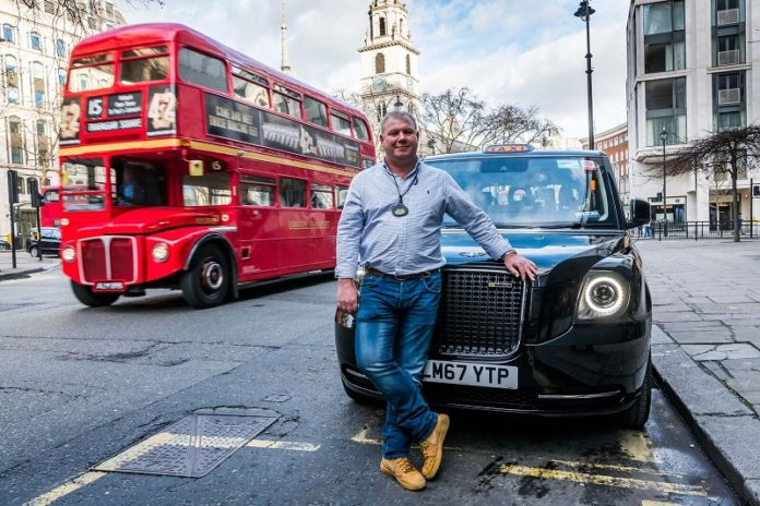 London's first electric cab