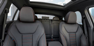 the all new bmw x4 m front seats