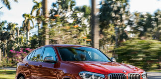 the new bmw x4 m40d action