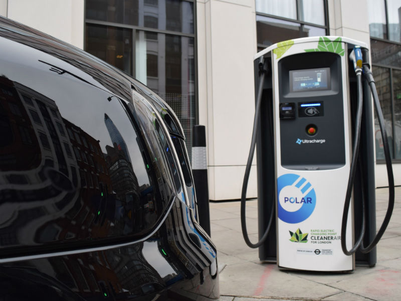 Chargemaster electrifies London with expansion of POLAR