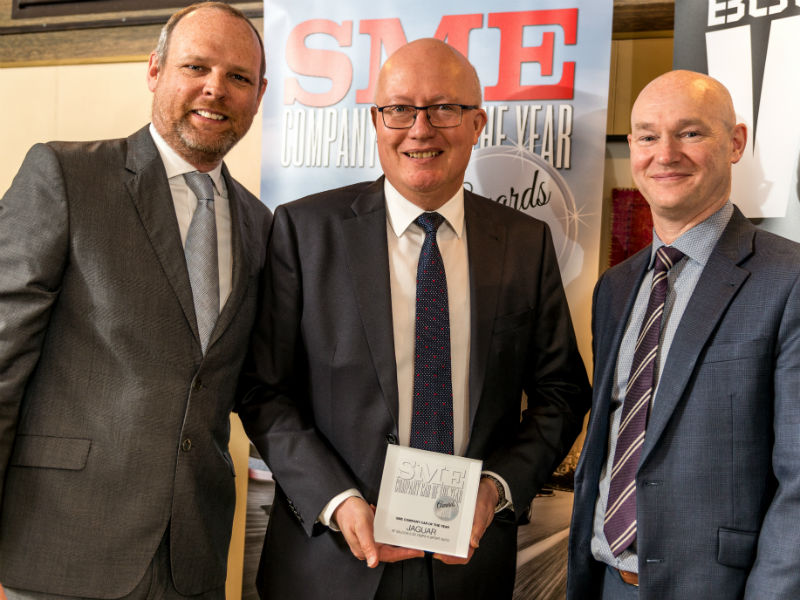Jon Wackett receives SME Company Car of the Year award
