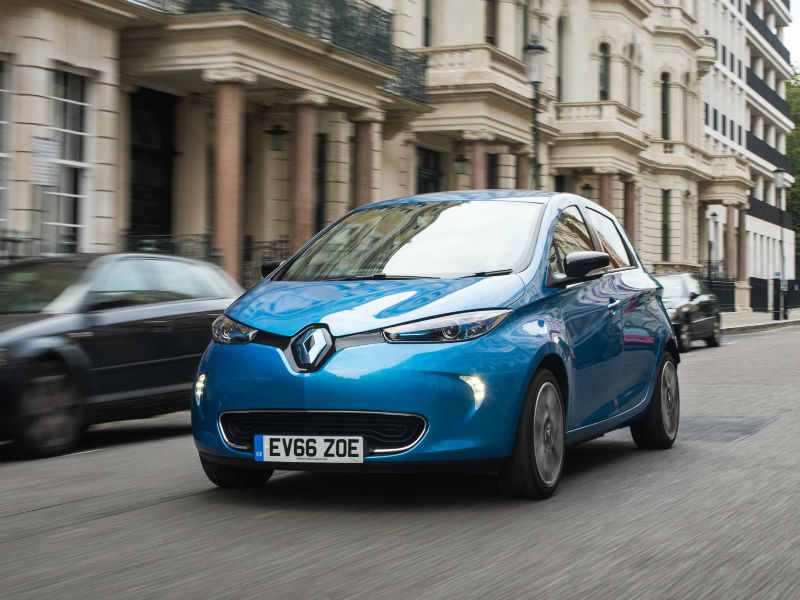 Renault Zoe qualifies for the Plug in Car Grant