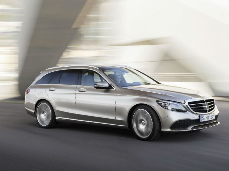 The updated Mercedes C-Class Saloon