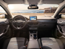Interior of new Ford Focus Active model