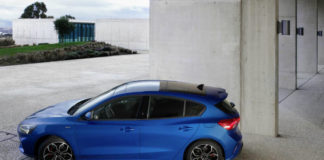 New Ford Focus in ST-Line trim