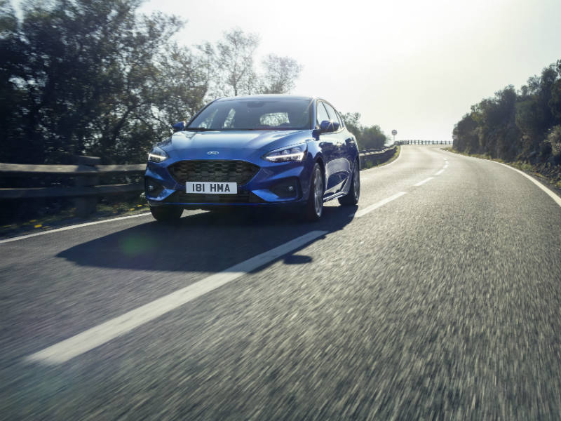 Ford Focus has continuously variable damping that minimises pothole damage