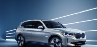 bmw concept ix3 shown at Beijing