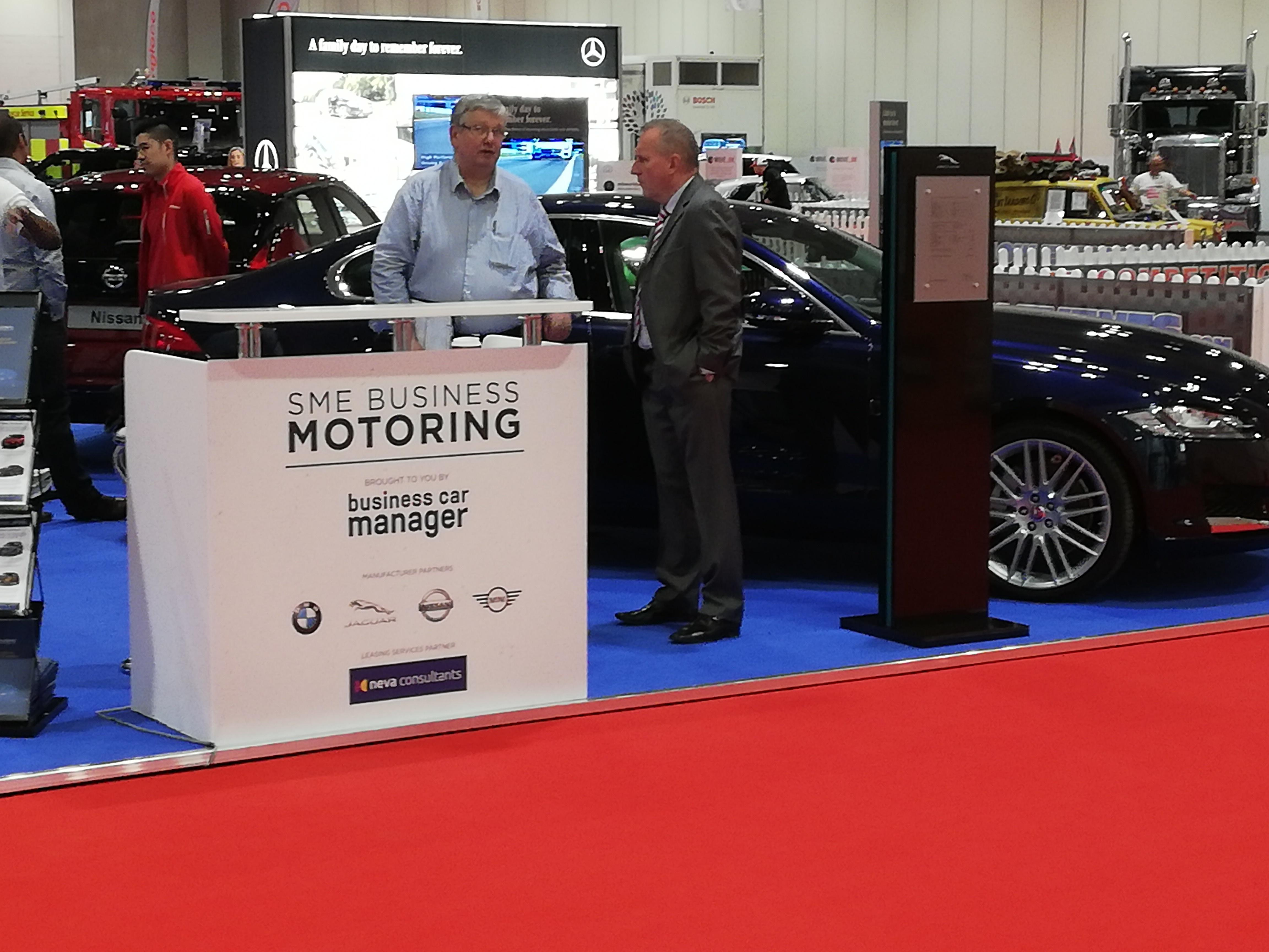 Business Car Manager SME Business Motoring Stand at the London Motor Show