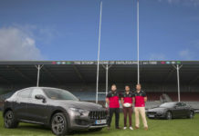 Maserati Official Automotive Partner to Harlequins
