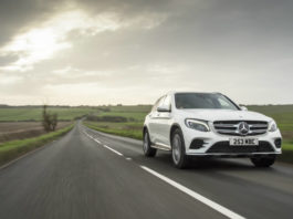 Mercedes GLC action header shot
