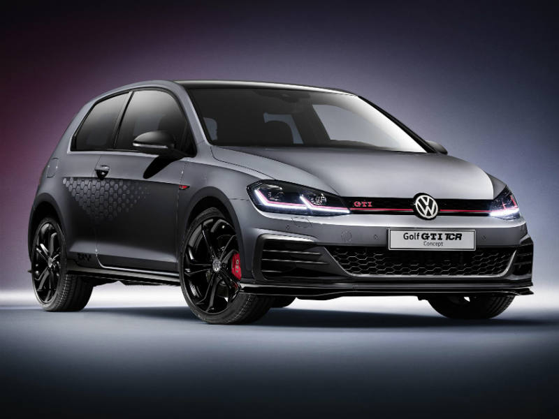 The new Volkswagen Golf GTI TCR Concept 1