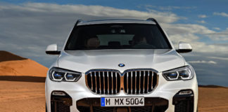 All new BMW X5 front on