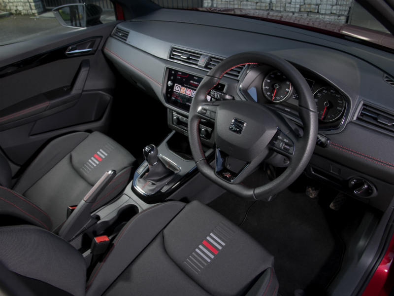 SEAT Arona review interior of car