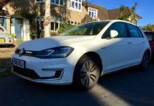 Volkswagen e Golf for silent motoring