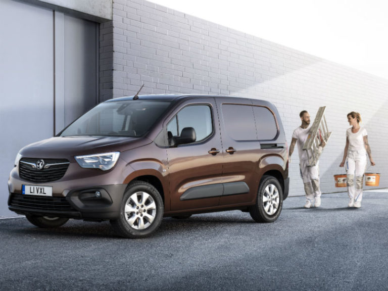 Vauxhall Combo with FlexThrough feature