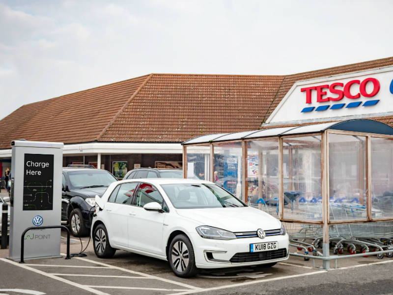 Tesco Pod Point charger