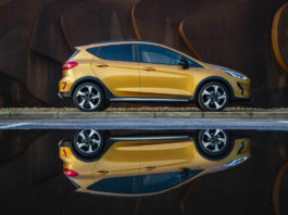 Ford Fiesta Active static