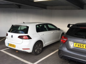 e-Golf at Rivervale parked