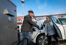 Volkswagen and Tesco chargepoint partnership 4