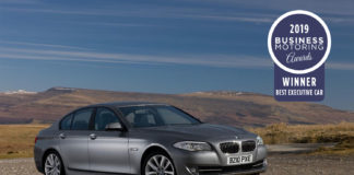 best executive car bmw 520d se
