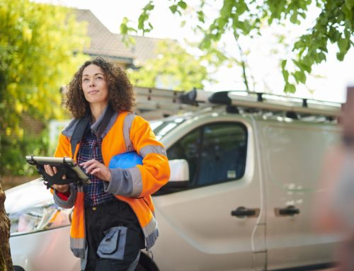 How vehicle tracking creates savings for site-based work